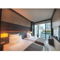Dark Color Matt Wood Venner Hilton Luxury Hotel Bedroom Furniture With Plywood Finish Manufactures