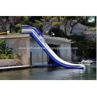 China Amazing Largest Garden Inflatable Water Slide Rentals Of 0.9mm PVC Tarpaulin on sale