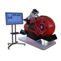 220V Game Center Equipment Virtual Reality Motorcycle Car Racing Simulator Manufactures