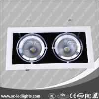 Recessed rectangle angle adjustable led grille light for indoor Manufactures