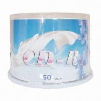 Quality Printed CD-R, 25pcs Cake Box Packaging with Virgin Material and High Quality for sale