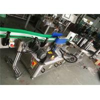 Beer Bottle Label Applicator , Automatic Labeler Machine 330mm Roll Diameter Manufactures