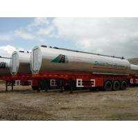Bitumen Reheating Hot Asphalt Trailer Oval Asphalt Transport Tanker  Manufactures