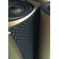 Quality Wavy Rubber Acoustic Insulation Foam , Room Sound Absorbing Foam Material for sale