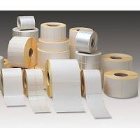 supply adhesive labels stickers paper material jumbo roll manufacturer Manufactures