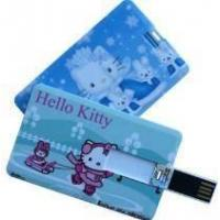 Hello Kitty Supper Thin Bank Card USB Flash Drive Manufactures