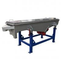 Good Quality  1-5  lemon Linear vibrating screen machine for powders and granules Manufactures