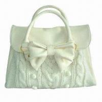 Handbag with Bowknot, 2012 New Design, Available in Various Colors Manufactures