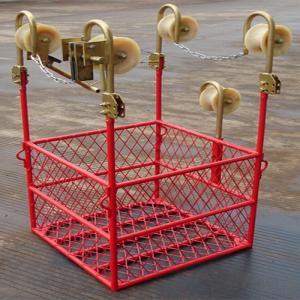 4 Bundle Transmission Line Stringing Tools Overhead Power Line Aerial Spacer Trolley Cart Manufactures
