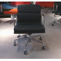 China Mid Century Replica Modern Classic Office Chair With Footrest Swivel Function on sale