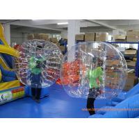 Clear Inflatable Bubble Ball Red Straps Adults Inflatable Belly Ball Bump Bubbles with CE Manufactures