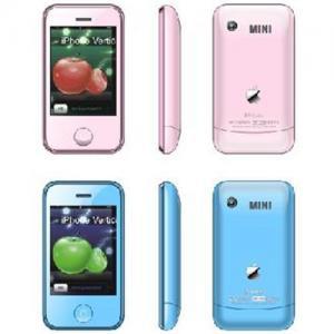 KA08  Mini iphone dual sim 2.6inch Manufactures