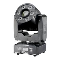 China 30W Spot+ 6x8W RGBW Wash Mini LED Moving Head Fixtures Stage Lighting on sale