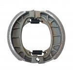 Round Shape Four Wheelers Parts Drum Brake Shoes For 110cc - 125cc ATV Manufactures