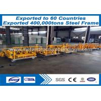 Quality freight Steel Structure Warehouse steel portal frame construction for sale