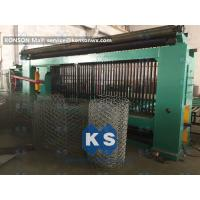 Basket Gabion Mesh Machine Full Automatic Overload Protect Clutch Infrared Ray Safety Manufactures