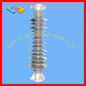 Composite Polymer Station Post Insulators , Solid Core Post Insulators 66kV 16kN Manufactures