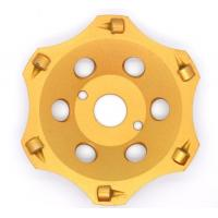 """5"""" PCD Diamond Cup Wheels Super Good Wearness For Heavy Epoxy Removing Manufactures"""