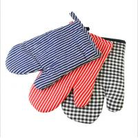 Safety Durable  Printed Oven Mitts Everyday Use Fashionable  For BBQ Cooking Manufactures