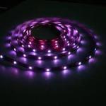 10m 120 degree 12V or 24V 5050 RGB Flexible Led Strip Lights (14.4W, 60 / m) Manufactures