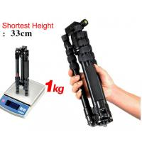 China Cheapest ONLY 1 KG M-2522Z camera tripod professional tripod  compact tripod on sale