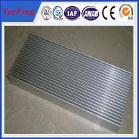 Hot! custom heatsink supplier aluminum extrusions 6063 with cheap price mill finish Manufactures