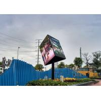 Quality SMD3535 Creative LED Screen Triangle Led Display For Shopping Malls High Gray Scale for sale