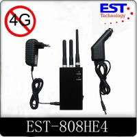Lightweight Cell Phone Frequency Blocker , 500mw Handheld Cell Phone Jammer Manufactures