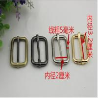 Cheaper manufacturing good quality 32 mm gold iron bag adjustable belt buckles tri glide buckles Manufactures