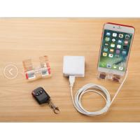 COMER Acrylic Charging security display stand for cell phone with 2-port alarm system for digital stores Manufactures