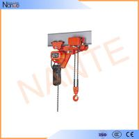 Low Headroom Electric Chain Hoist Wire Rope For Production Line Manufactures