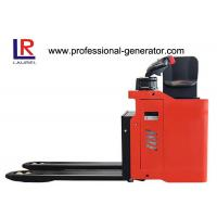 China AC Controlled Drivable Easy Turing Seated 2000kg Electric Pallet Truck PU Wheel on sale