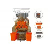 CE Approval Zumex Orange Juicer / Stainless Steel Orange Juicing Machines For Drinks Factory Manufactures