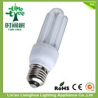 CE / ROHS Approved 3U Shaped Fluorescent Light Bulbs 20W Color Temperature Light Manufactures