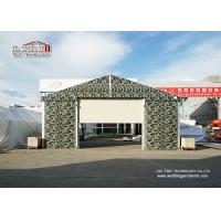 China Sliding Door Aluminum Frame Helicopter Hangar , Temporary Private Jet Hangar on sale