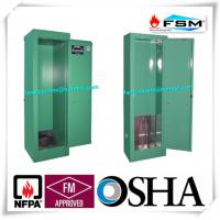 Green Lockable Drum Storage Containers Ventilated Single Cylinder For Laboratory Manufactures
