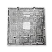 China B9090S Specialized square ductile cast iron manhole cover with frame size 900x900mm sewage drain cover free design on sale