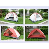Durable Easy Up Waterproof Camping Tent , Outdoor trip large Family tent Manufactures