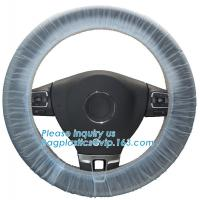 steering wheel 5 in 1 clean kits Disposable seat cover disposable steering wheel cover disposable gear shift cover dispo Manufactures