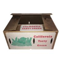 Wax waterproof cardboard box for export to Australia for broccoli Manufactures