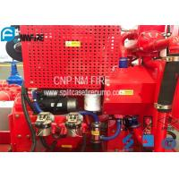 Red Fire Pump Diesel Engine 86KW Water Cold Cooling For Firefighting Manufactures