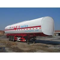 China Sacred mountain 13 meters 20 tons 3 axle semi-trailer fuel SDZ9320GJY on sale