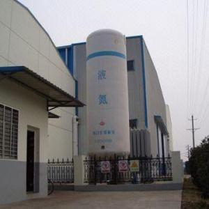 Liquid Nitrogen Vertical Storage Tank with 10 to 100m Manufactures