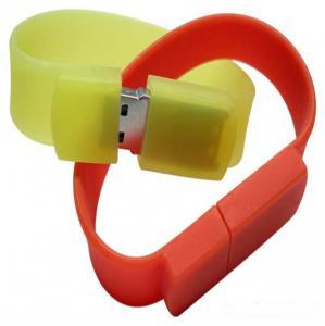 China Yellow PVC Custom USB Flash Drive For Photographer Gift / 32GB Usb Stick on sale