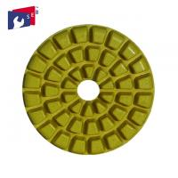 China Durable Diamond Resin Polishing Pads , Concrete Floor Polishing Pads on sale