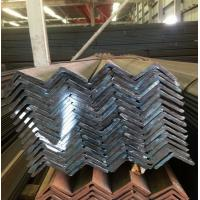 China Black Hot Rolled Mild Steel Angle Bar AISI ASTM Q235 SS400 Standard on sale