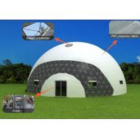 Events Transparent Dome Tent Fire Retardant With 400mm * 600mm Air Window Manufactures