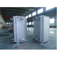 Cement Industries Welded Plate Heat Exchanger Nickel Based Alloy Manufactures