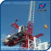 D5030 Luffing Jib 50m Jib Length Tower Crane with 2*2*3m Split Mast Section Manufactures