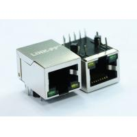 Buy cheap 1x1 Port 10/100Base-T Rj45 Power Over Ethernet Connector Green / Yellow LED from wholesalers